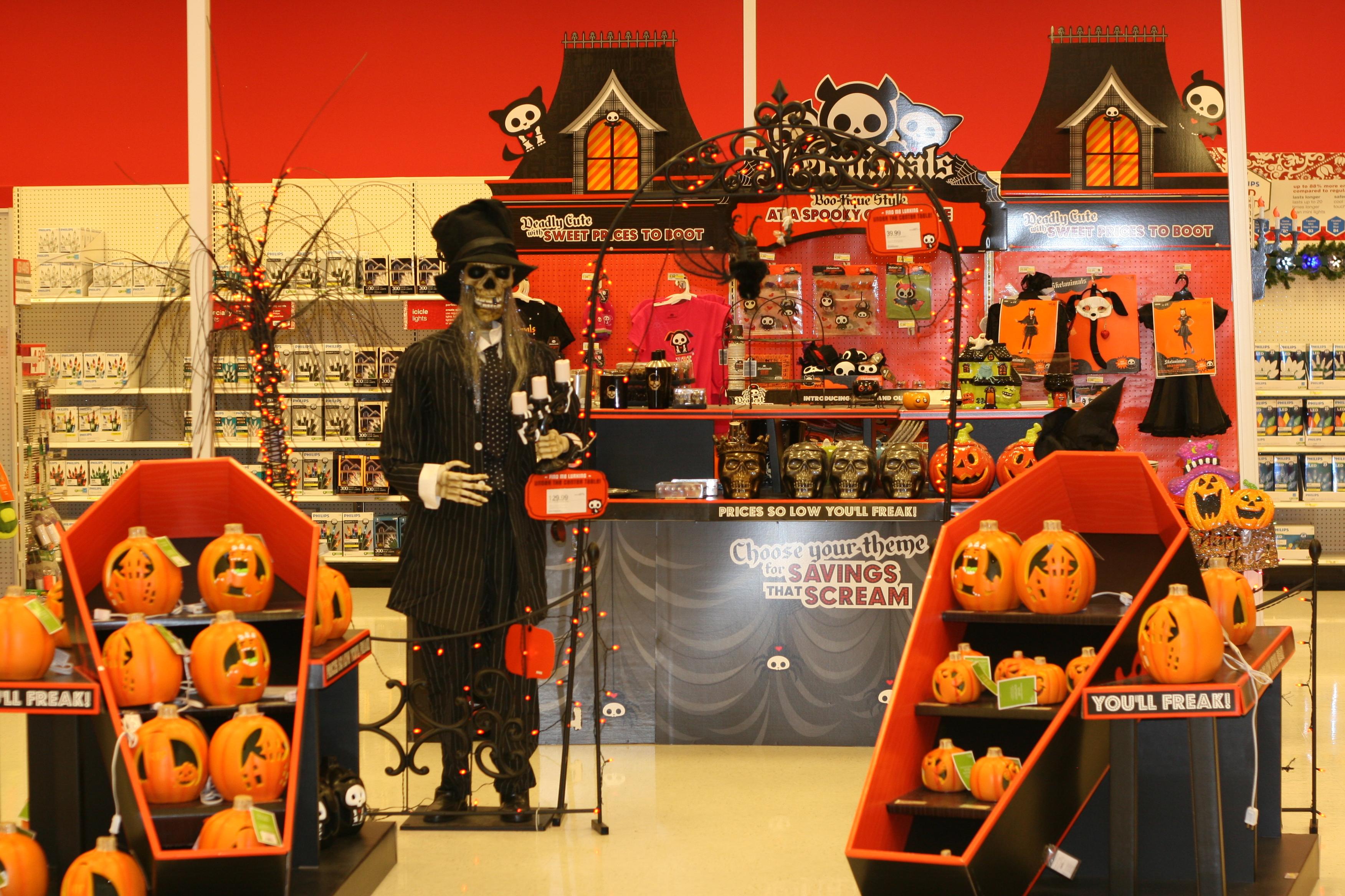 halloween hysteria target halloween display - Target Halloween