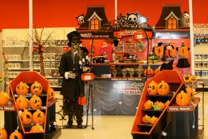 Target Halloween display